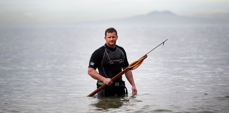 Winston Cowie Spearfishing New Zealand Herald Article