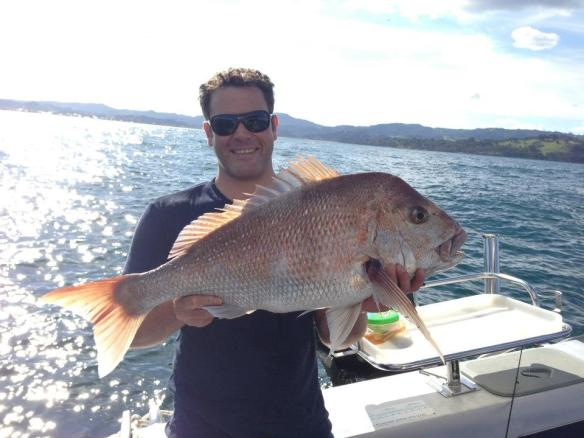 David Brodie - Moana Nui Fishing Club Third Place (2012-2013) 15lb 6 Snapper
