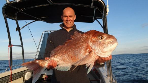 George Gordon 20 lb Snapper!