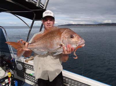 Tim Scott - Moana Nui Fishing Club Runner Up (2012-2013) 15lb 6 Snapper