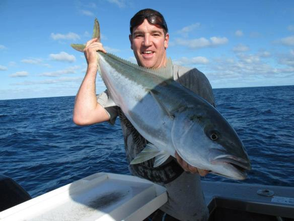 Tim Scott - Moana Nui Fishing Club Runner Up (2012-2013) 32 lb Kingfish
