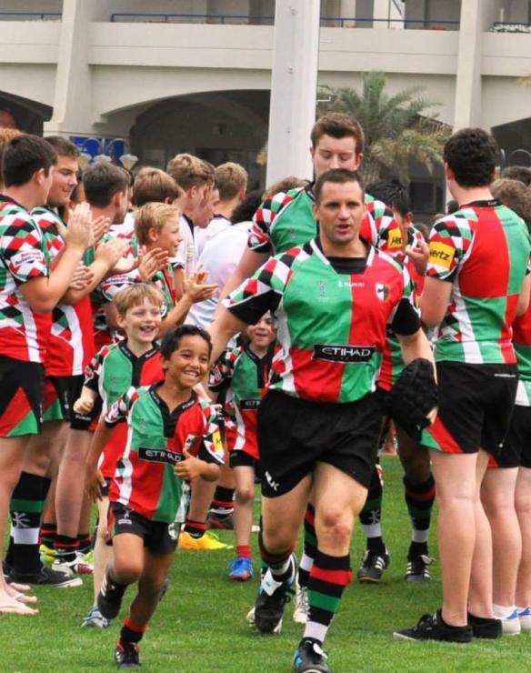 Mike Ballard, Abu Dhabi Harlequins Rugby