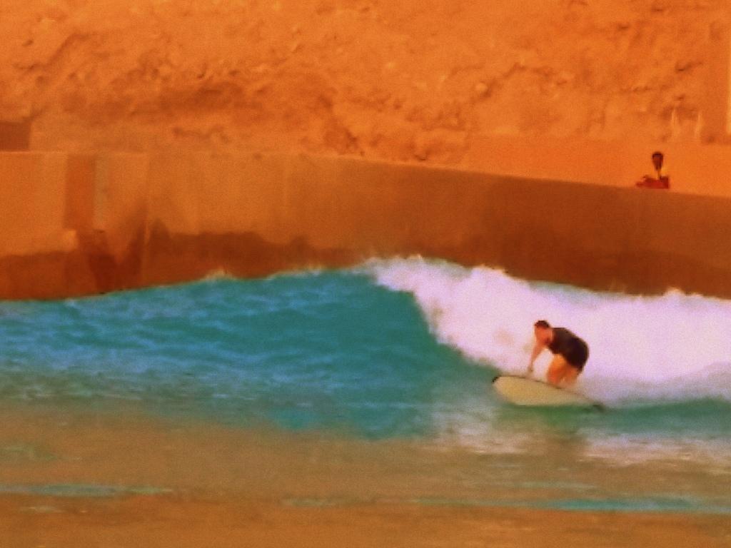 "The Breakwater ""Right"" Abu Dhabi."
