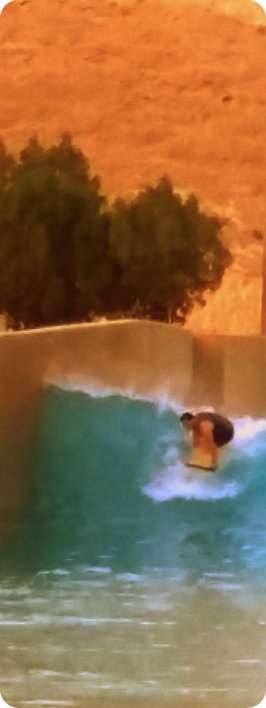 "The Breakwater. ""Left."" Take off. Abu Dhabi."