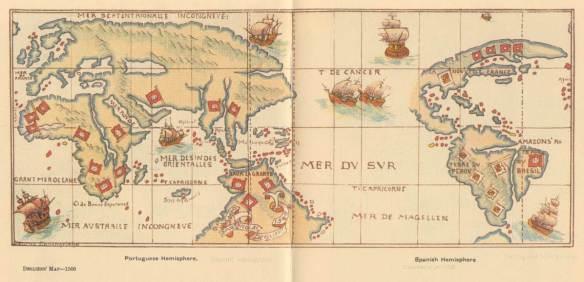 Desliens Map 1566