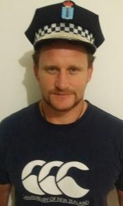 Winston Cowie La Coruna Police Hat