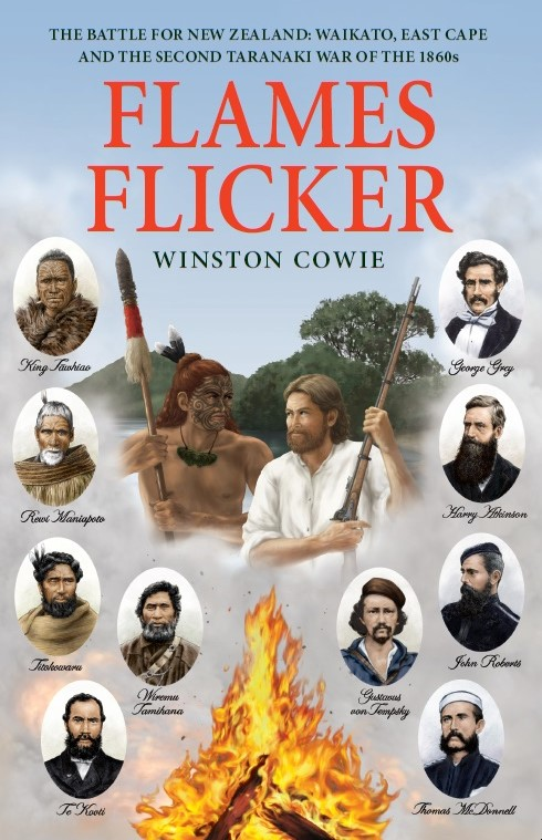 Flames Flicker by Winston Cowie