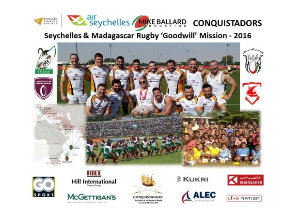 Air Seychelles Mike Ballard Foundation Conquistadors 2016