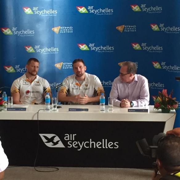 Air Seychelles Mike Ballard Foundation Press Conference