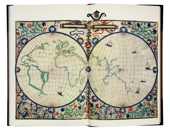 Jean Rotz Circular Chart - 1542
