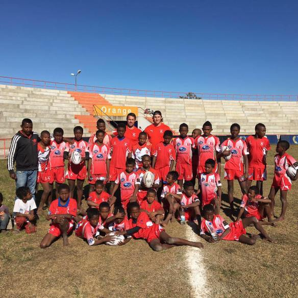 Bahrain RFC Kit was a real hit in Madagascar!
