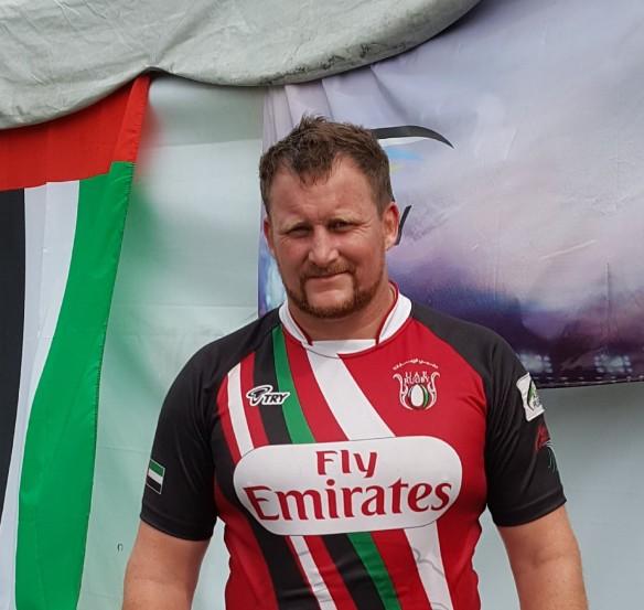 Winston Cowie rugby UAE